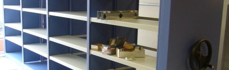 Rasterom rafturi arhivare